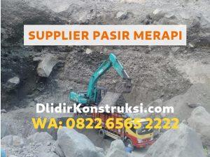 Supplier Pasir Merapi Jogja Harga Murah 135rb/kubik