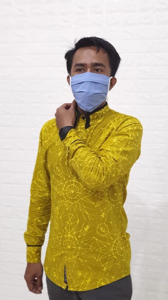 Masker Kain Polos Bahan Katun 2 Lapis Harga Grosir di Bandung