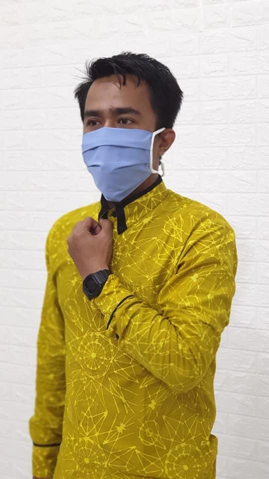 Harga Grosir Masker Kain Termurah di Solo Mulai Rp2.500 per pcs