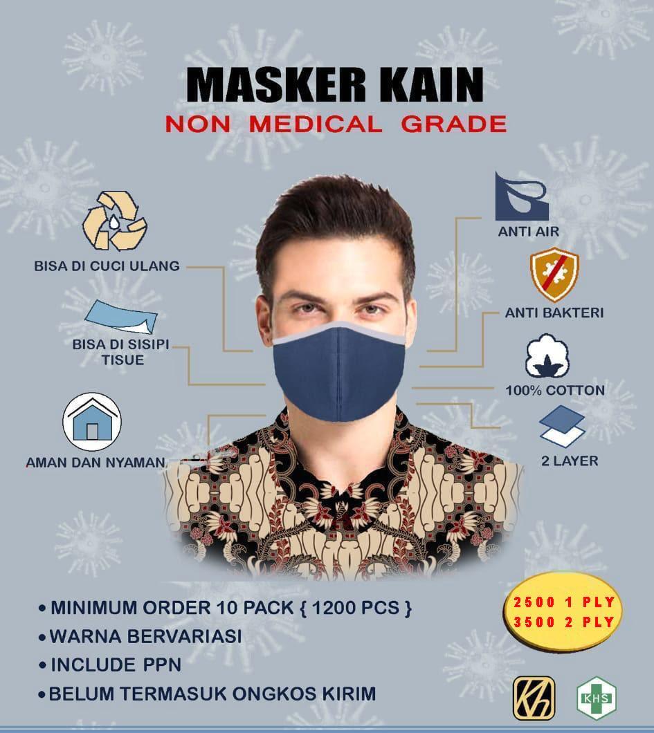 Manfaat dan Kegunaan Masker Kain untuk Kesehatan