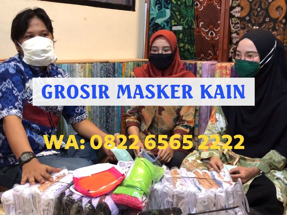 Jual Masker Kain Semarang Terpercaya Harga Grosir Murah