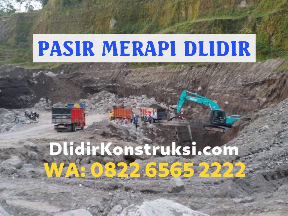Harga Pasir Muntilan di Jepara Mulai Rp235.000 per Kubik