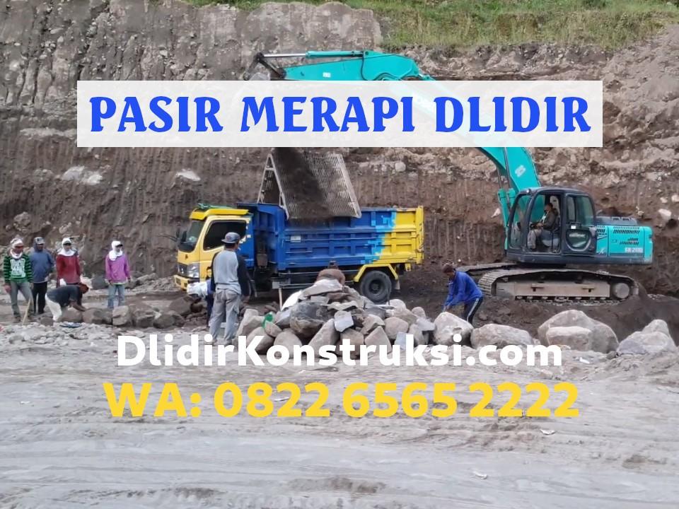 Jual Pasir Merapi di Jogja Harga Mulai Rp135.000 per Kubik (M3)