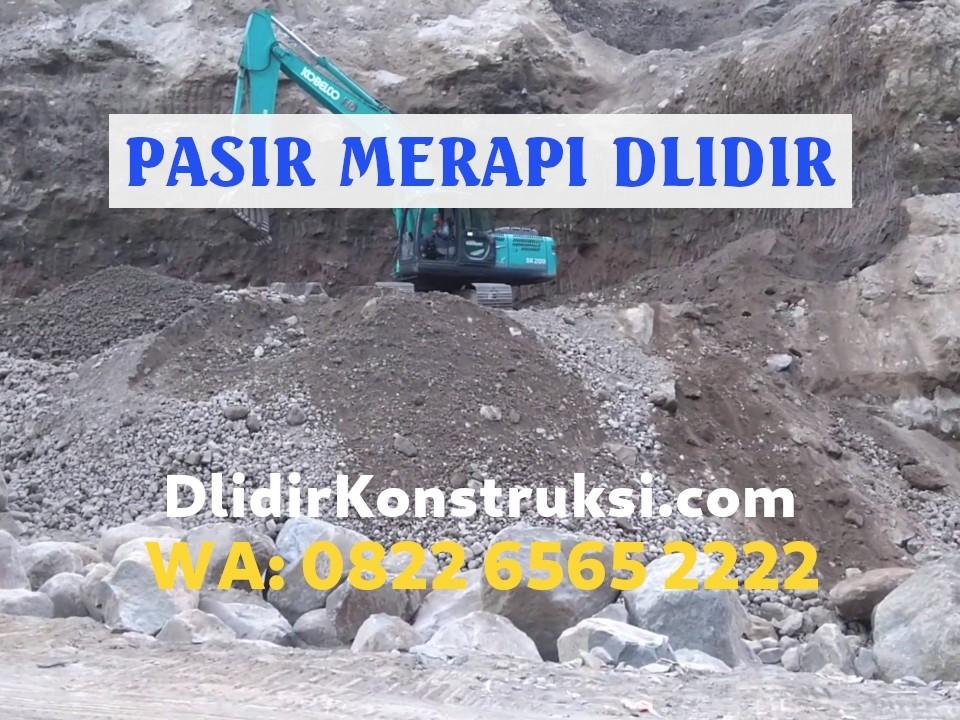 Pasir Merapi Berkualitas Terbaik di Indonesia